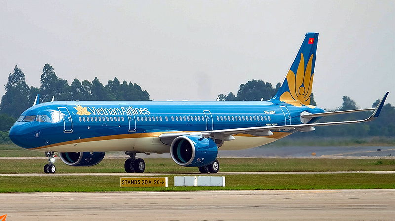 Một chiếc A321 của Vietnam Airlines
