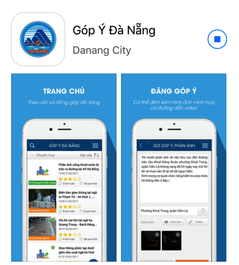Giao diện ứng dụng