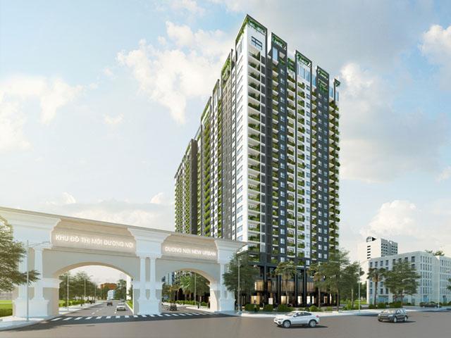 Anland Complex nằm ngay bên cạnh cổng KĐT Dương Nội