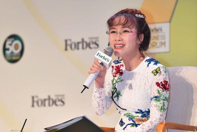 Bà Nguyễn Thị Phương Thảo,  Tổng giám đốc Vietjet tại diễn đàn