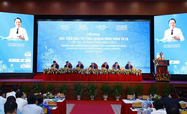Ông Trịnh Văn Quyết, Chủ tịch HĐQT Tập đoàn FLC đánh giá cao môi trường đầu tư tại tỉnh Quảng Bình