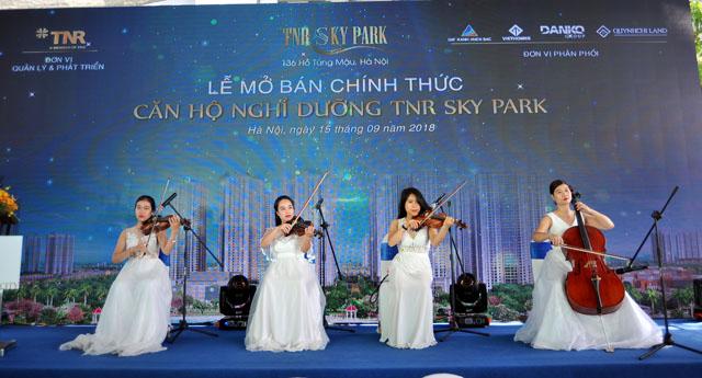 Sự kiện mở bán chính thức TNR Sky Park