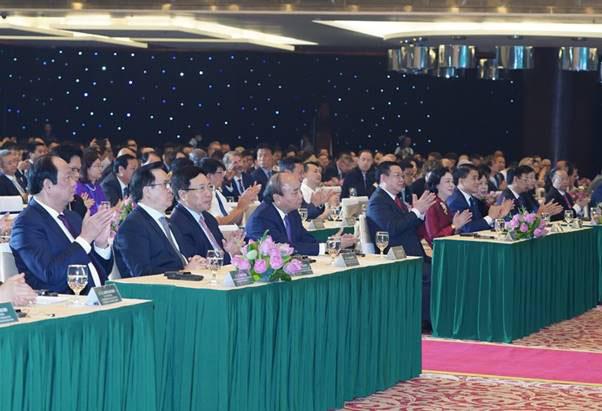 """Thủ tướng Nguyễn Xuân Phúc tham dự và phát biểu chỉ đạo Hội nghị xúc tiến đầu tư """"Hà Nội 2020 - Hợp tác Đầu tư và Phát triển"""""""