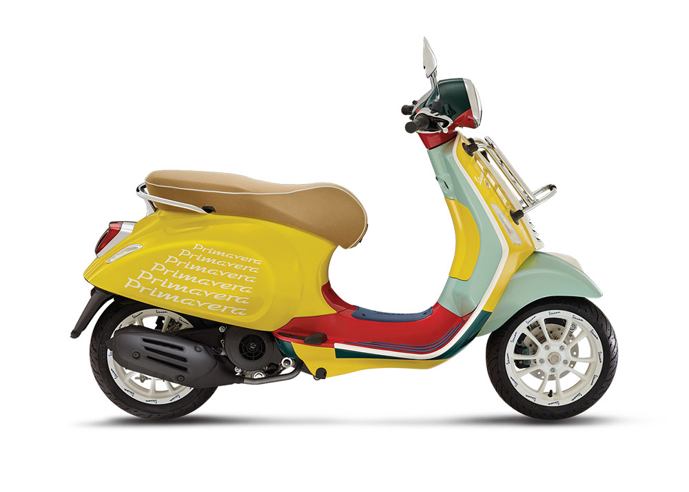 Vespa Primavera Sean Wotherspoon ra mắt trong
