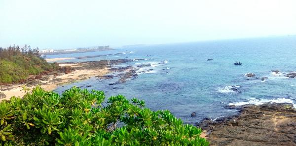Vị trí dự kiến đặt trạm tiếp bờ mỏ khí Cá Voi Xanh tại Tam Quang, Núi Thành, Quảng Nam.