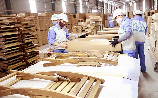Gỗ và sản phẩm gỗ đã bị sụt giảm kim ngạch xuất khẩu trong tháng 8/2021