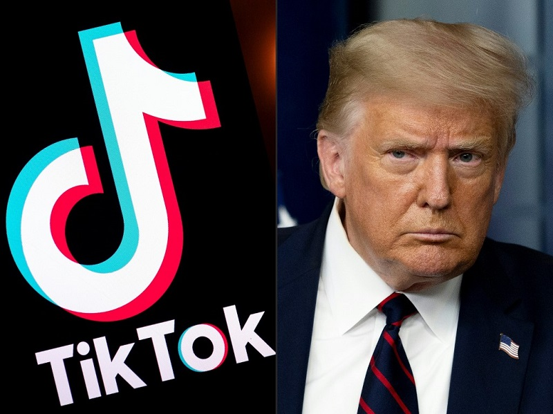 US President Donald Trump recently reaffirmed that the deadline for ByteDance to close the TikTok sale is still September 15, not to be extended.  Photo: AFP