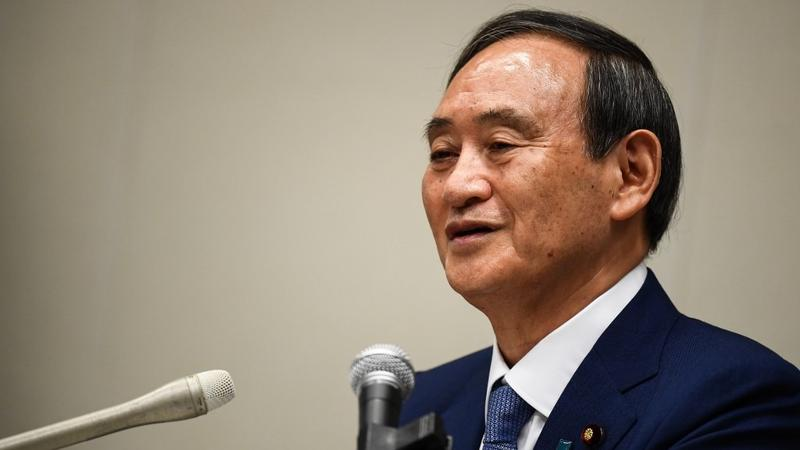 Mr. Yoshihide Suga affirmed that he would continue to implement the policies of the Abe period.  Photo: AFP