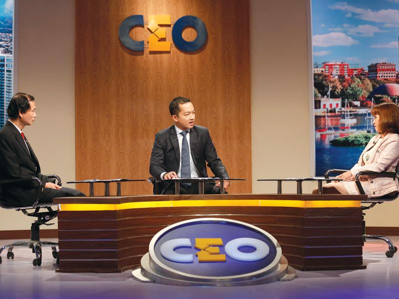 Ông Nguyễn Hoài Nam, Tổng giám đốc Công ty TNHH Jio Health ở vị trí CEO.