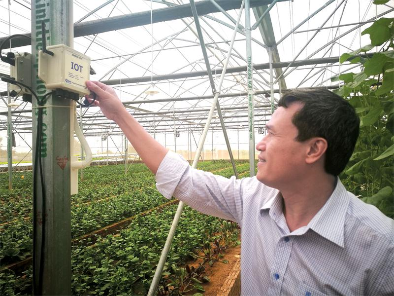 Hệ thống Smart Agriculture của VNPT Technology