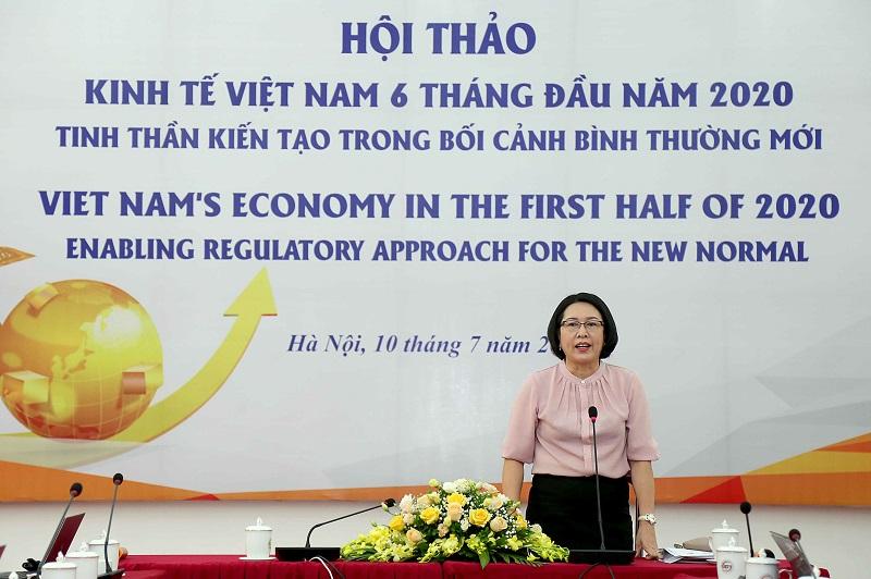 TS. Trần Thị Hồng Minh, Viện trưởng CIEM (Ảnh: Minh Trang/MPI)