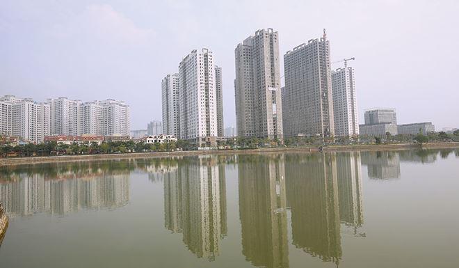 Nhà cao tầng là xu hướng tất yếu tại các đô thị lớn. Ảnh: Dũng Minh