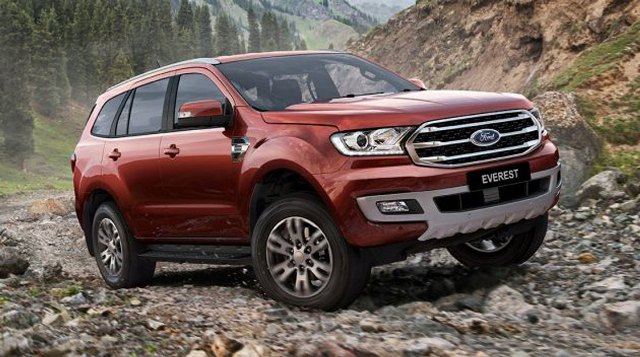 Ford Everest giảm