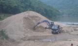 Thanh Hóa cho phép 5 doanh nghiệp khai thác cát được hoạt động trở lại