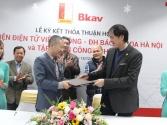 Bkav hợp tác khoa học - công nghệ với Trường đại học Bách khoa Hà Nội