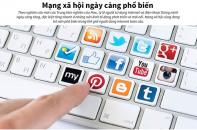 [Infographic] Mạng xã hội ngày càng phổ biến