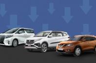 [Infographic] Những mẫu ô tô ế ẩm nhất tháng 4