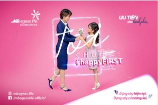 """MB Ageas Life triển khai chiến dịch """"#happyFIRST- Ưu tiên cho hạnh phúc"""""""